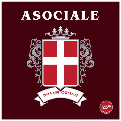 "Asociale ""Novum Comum"" 7"" (25th anniv. ed.)"