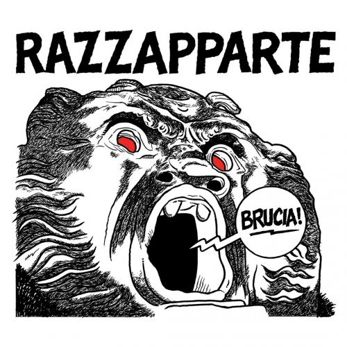 "Razzapparte ""Brucia"" digipack CD"